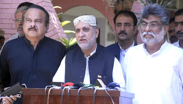 Missing persons, CPEC top-most party priority for alliance
